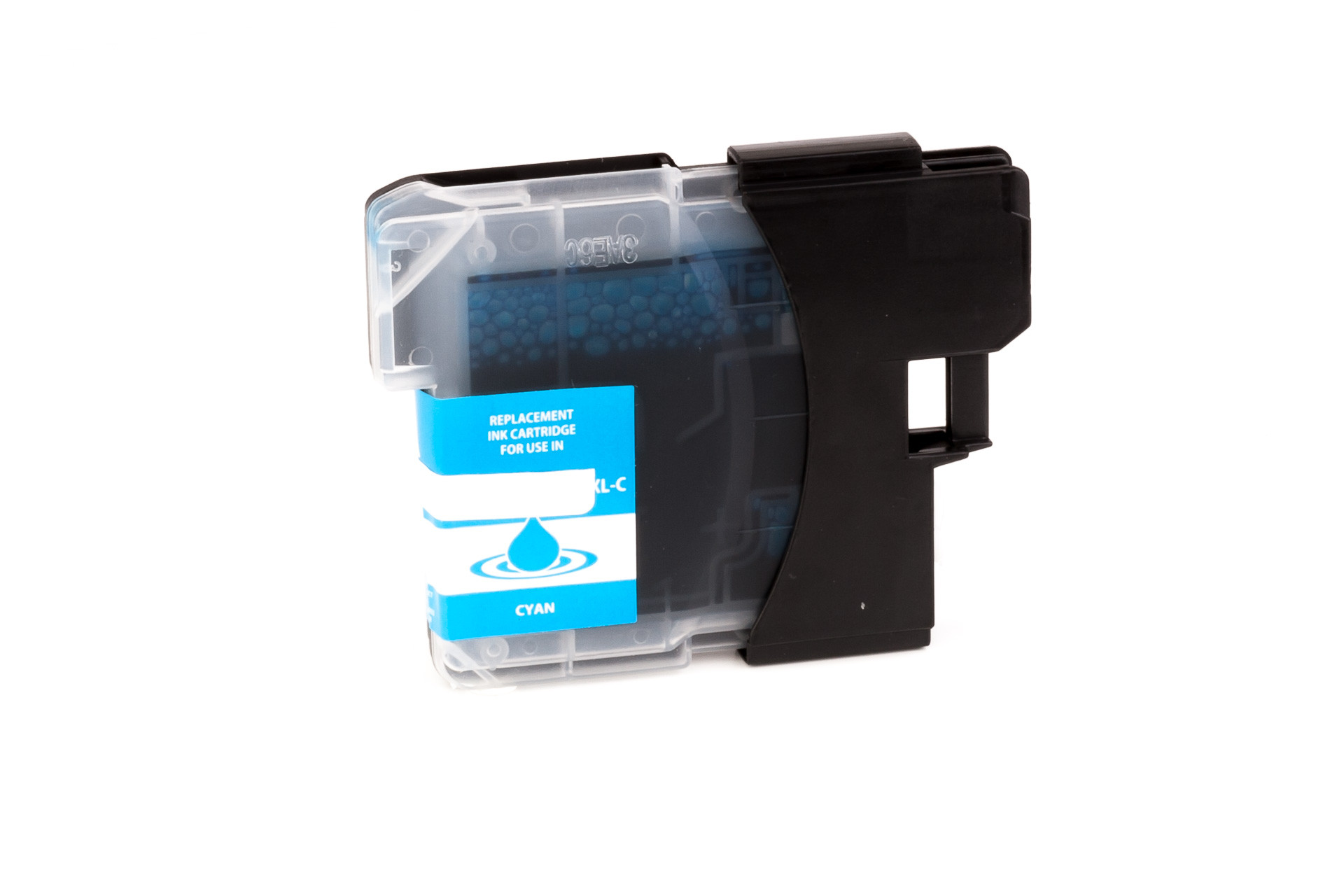 Ink cartridge (alternative) compatible with Brother  LC980  LC1100  cyan