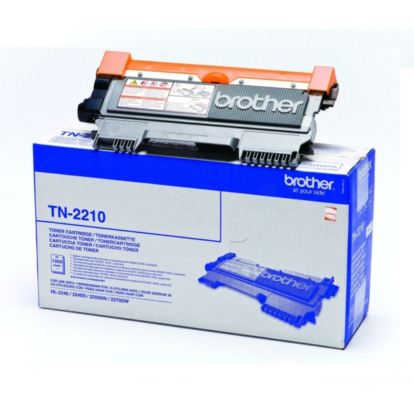 Original Toner schwarz Brother TN2210 schwarz
