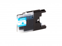 Ink cartridge (alternative) compatible with Brother DCP-J 525 W / 725 W / 925 W / MFC-J 6510 DW / 6710 DW / 6910 DW // LC-1240 C / LC1240 cyan