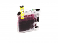 Ink cartridge (alternative) compatible with Brother - LC125XLY/LC-125 XL Y - DCP-J 4110 DW yellow