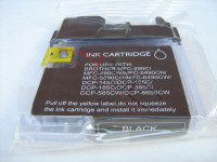 Ink cartridge (alternative) compatible with Brother LC1100 black