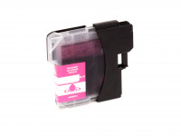 Ink cartridge (alternative) compatible with Brother  LC980  LC1100  magenta