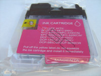 Ink cartridge (alternative) compatible with Brother LC1100 magenta