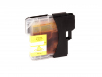 Ink cartridge (alternative) compatible with Brother  LC980  LC1100  yellow