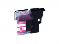 Ink cartridge (alternative) compatible with Brother DCP-J 125/315 W/515 W/MFC-J 220/265 W/410/415 W/615 W LC985M magenta