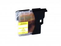 Ink cartridge (alternative) compatible with Brother DCP-J 125/315 W/515 W/MFC-J 220/265 W/410/415 W/615 W LC985Y yellow