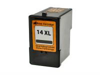 Bild fuer den Artikel IC-LEX14bk: Alternativ Tinte Lexmark-No. 14 18C2090E in schwarz