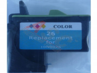 Ink cartridge (alternative) compatible with Lexmark 010N0026E  No. 26 tricolor