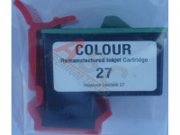 Ink cartridge (alternative) compatible with Lexmark 010N0227E  No. 27 tricolor