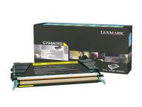 Original Toner gelb Lexmark C734A1YG gelb