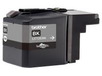 Original Ink cartridge black Brother LC12EBK black