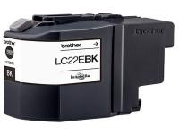 Original Ink cartridge black Brother LC22EBK black