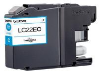 Original Ink cartridge cyan Brother LC22EC cyan
