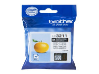 Original Ink cartridge black Brother LC3211BK black