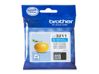 Original Ink cartridge cyan Brother LC3211C cyan