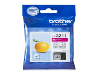 Original Ink cartridge magenta Brother LC3211M magenta