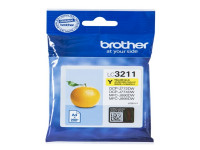 Original Ink cartridge yellow Brother LC3211Y yellow