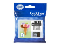 Original Ink cartridge black Brother LC3213BK black