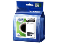 Original Ink cartridge black Brother LC3233BK black