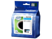 Original Ink cartridge cyan Brother LC3233C cyan