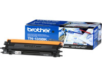 Original Toner schwarz Brother TN135BK schwarz