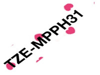 Original P-Touch Ribbon Brother TZEMPPH31 black