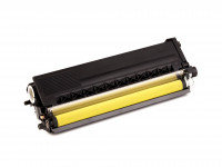 Toner cartridge (alternative) compatible with Brother TN 328 Y / TN328Y - HL 4570 CDW / HL 4570 Cdwt / MFC 9970 CDW / DCP 9270 CDN yellow
